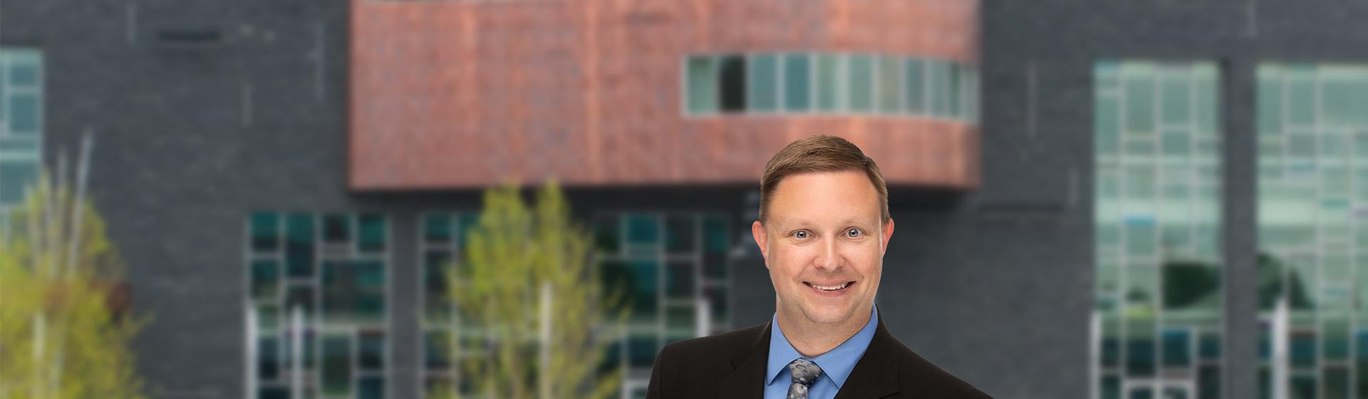 Banner photo of Derek L. Prestin