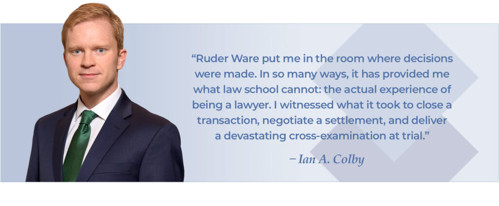 Ian Colby photo and quote